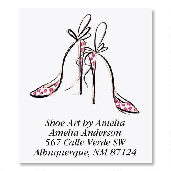 Divine Shoes Select Address Labels