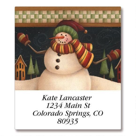 My Mittens  Select Address Labels