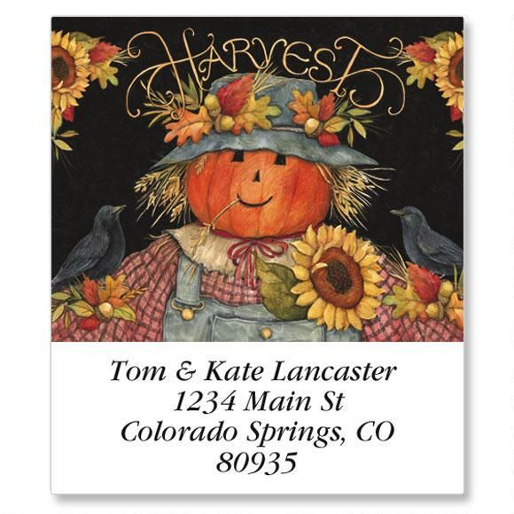 Scarecrow Select Return Address Labels