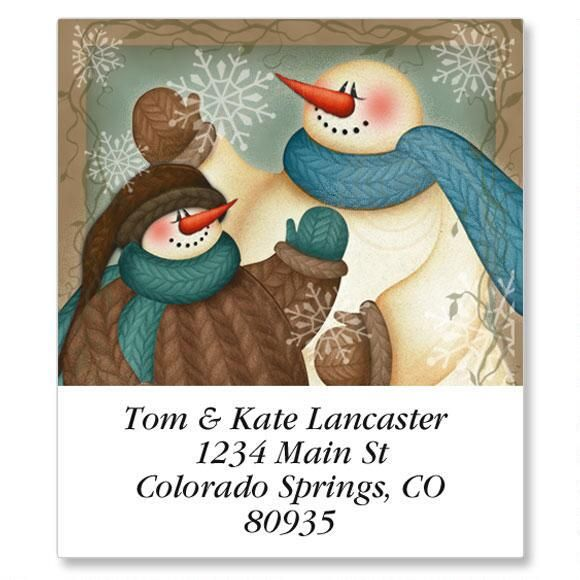 A Winter Hello Select Return Address Labels