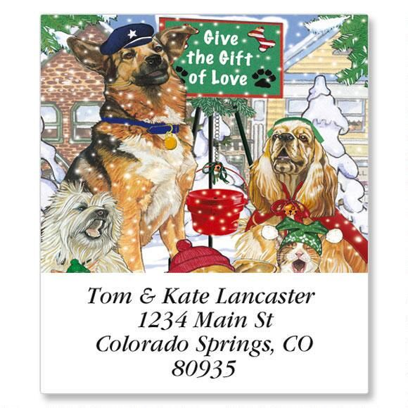 Give the Gift Select Address Labels