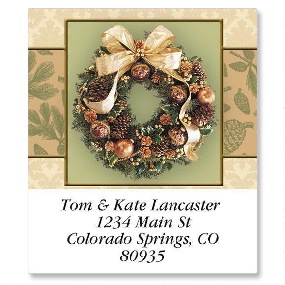 Wreath Magic Select Return Address Labels