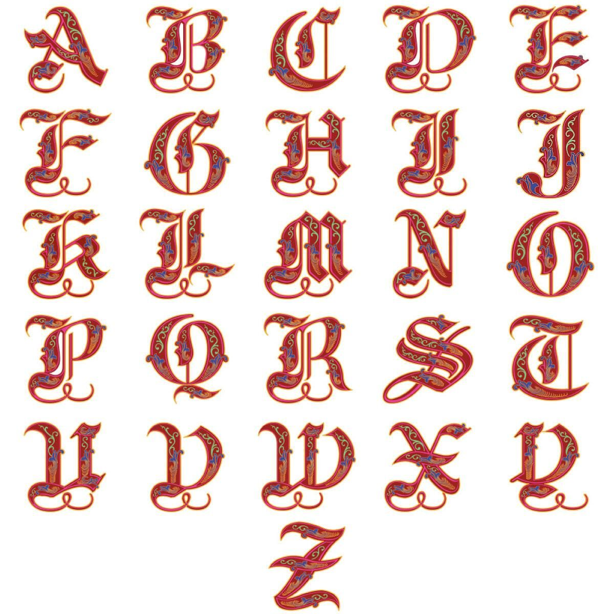 Royal Monogram Select Address Labels