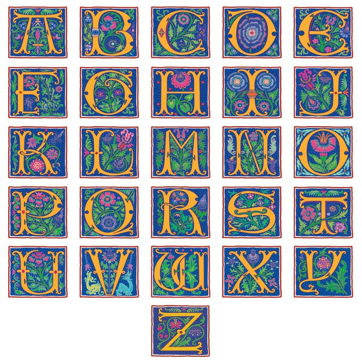 Romant Monogram Select Return Address Labels