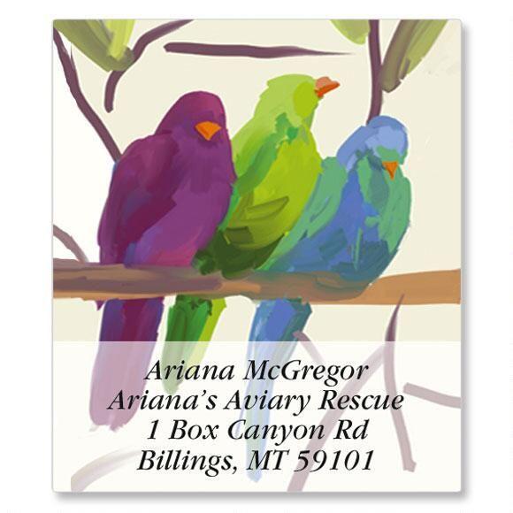 Flocked Together Select Return Address Labels