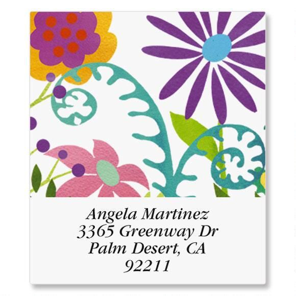 Spring Has Sprung Select Address Labels
