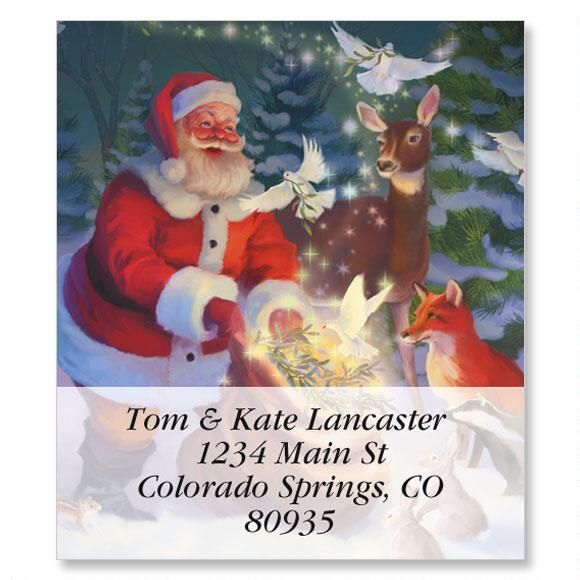 Christmas Peace Select Return Address Labels