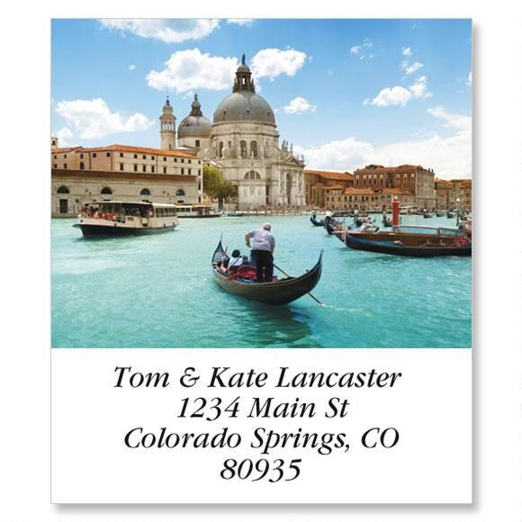 Grand Canal, Venice Select Return Address Labels