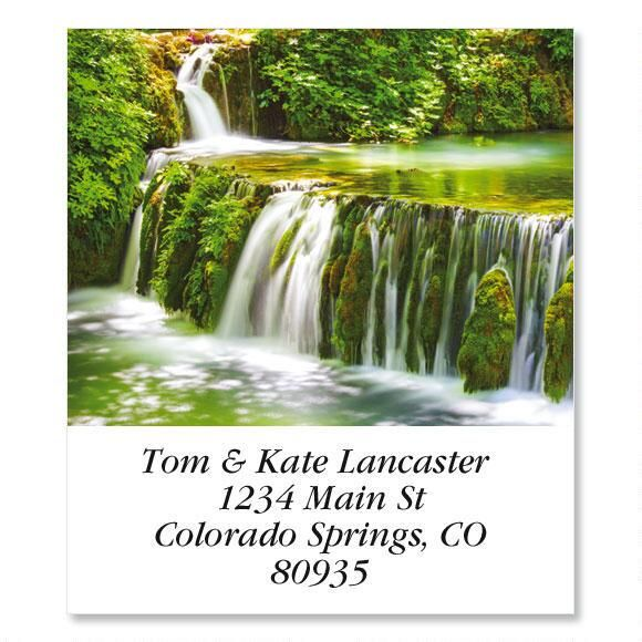 Waterfall  Select Return Address Labels