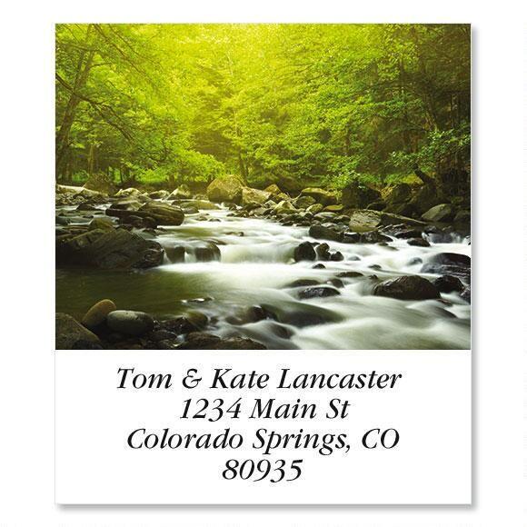 Mountain River Select Return Address Labels