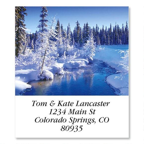 Snowyscape  Select Address Labels