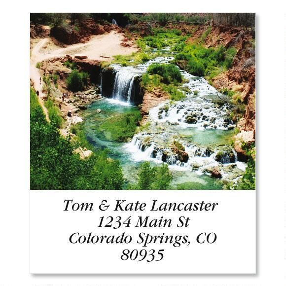 Navajo Falls  Select Address Labels