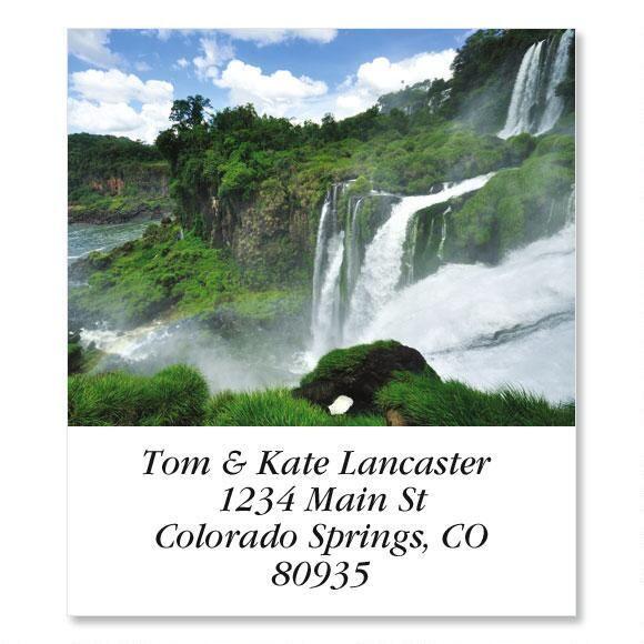 Tumbling Falls  Select Address Labels