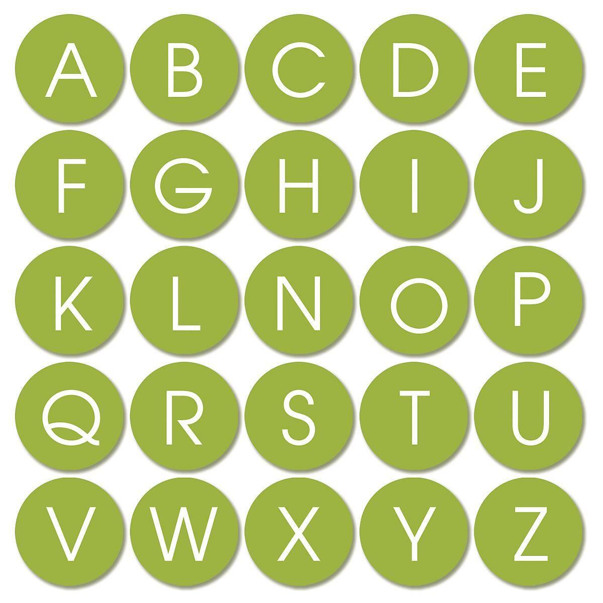 Trendy Monogram  Select Return Address Labels