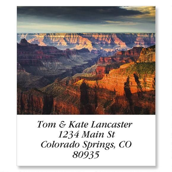 Grand Canyon National Park Select Return Address Labels