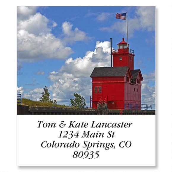 Red Lighthouse Select Address Labels