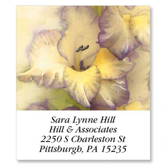 Gladiolus  Select Address Labels