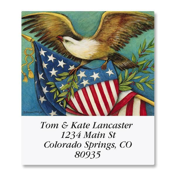 Eagle and Shield Select Return Address Labels