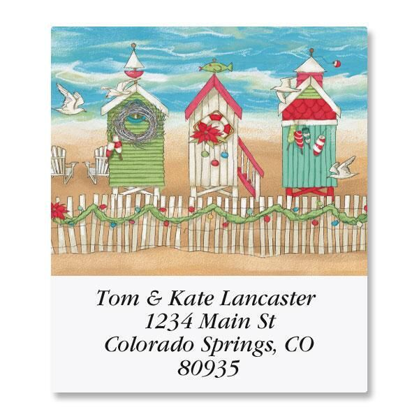 Holiday by the Sea Select Address Labels