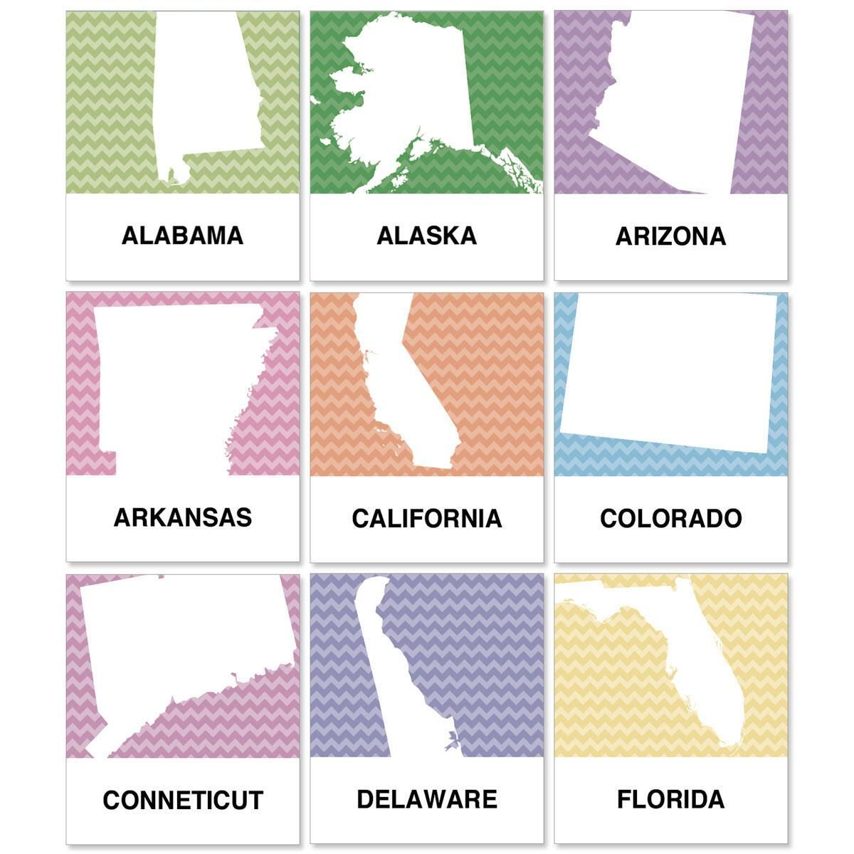 States Select Address Labels  (All 50 states available)