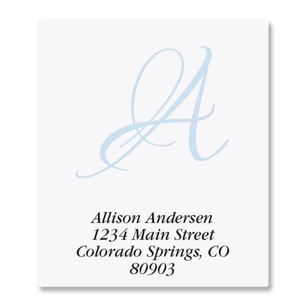 Initial Select Return Address Labels