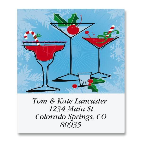 Holiday Spirits Select Address Labels