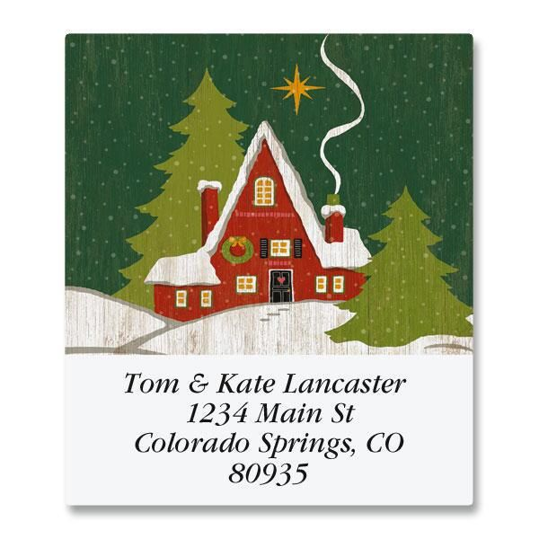 Hearts Come Home Select Return Address Labels