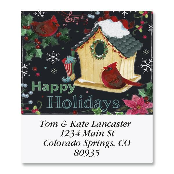 Holiday House Select Return Address Labels