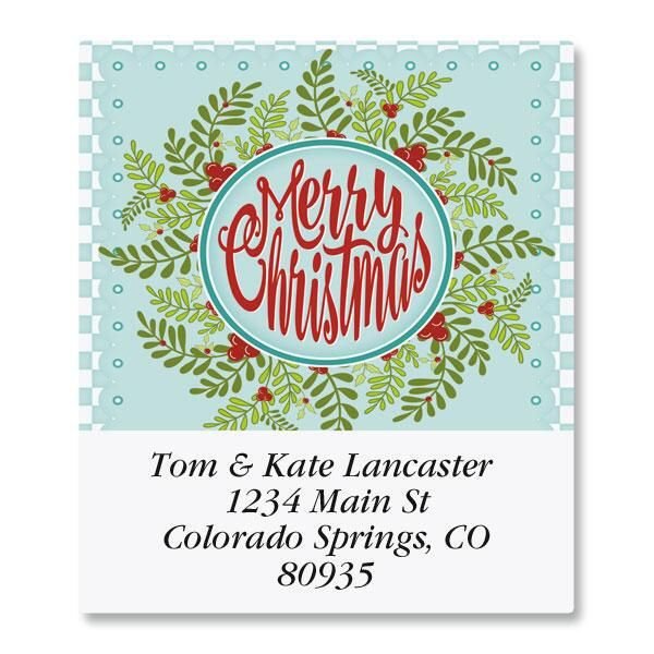 Quilted Greetings Select Return Address Labels