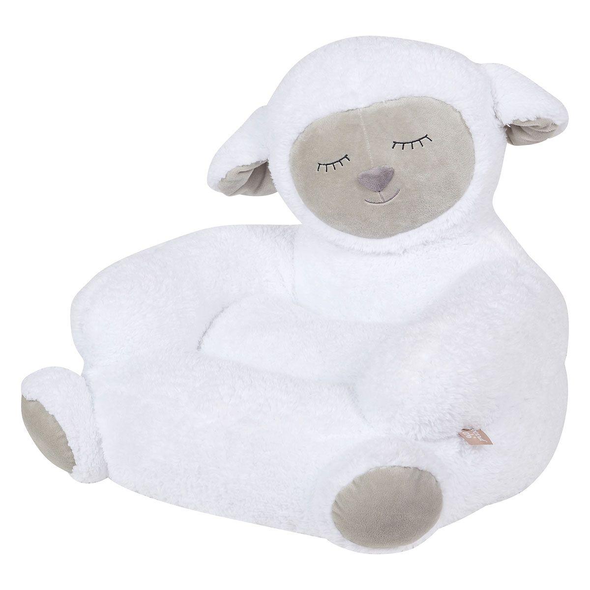 Plush Sherpa Lamb Children's Character Chair