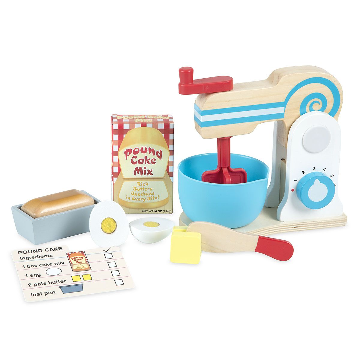 Make-A-Cake Mixer Set by Melissa & Doug®