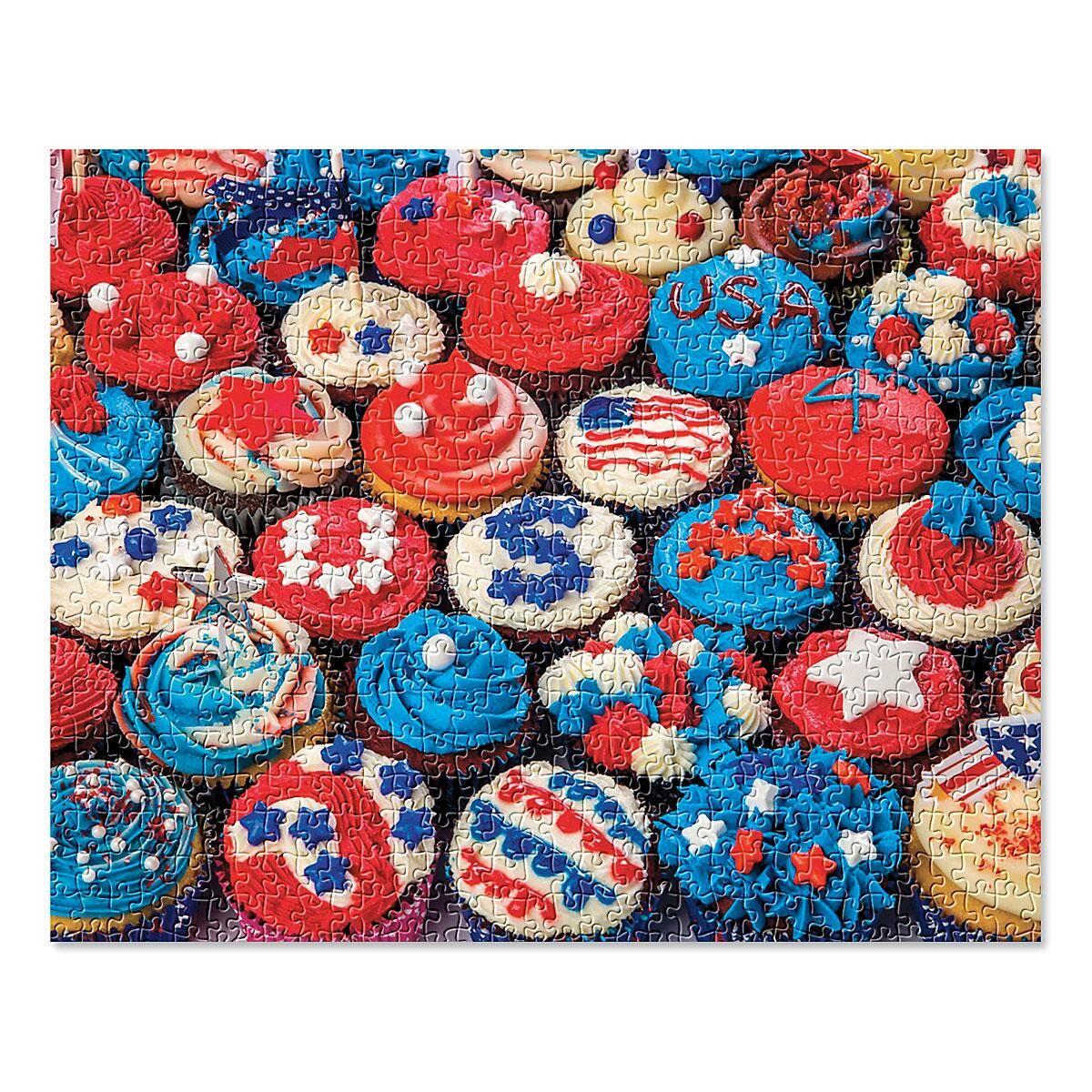 Patriotic Cupcakes Puzzle