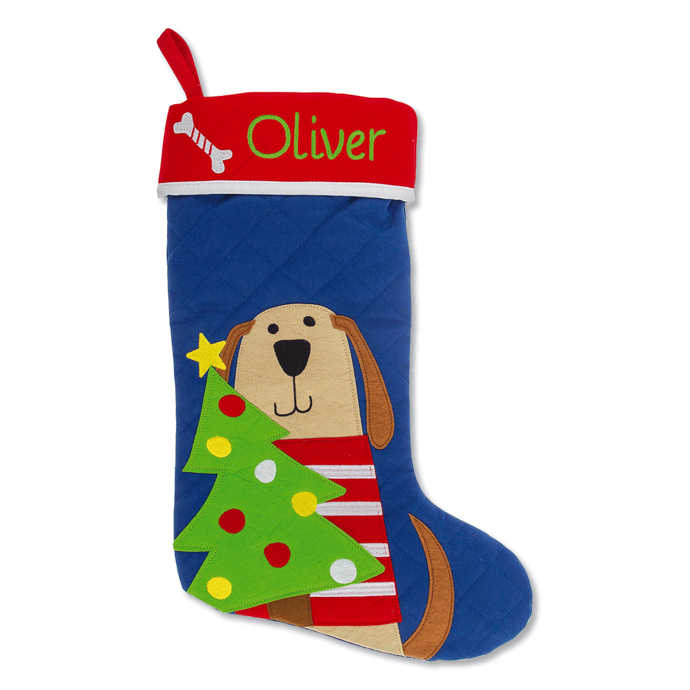 Custom Dog Christmas Stocking by Stephen Joseph®