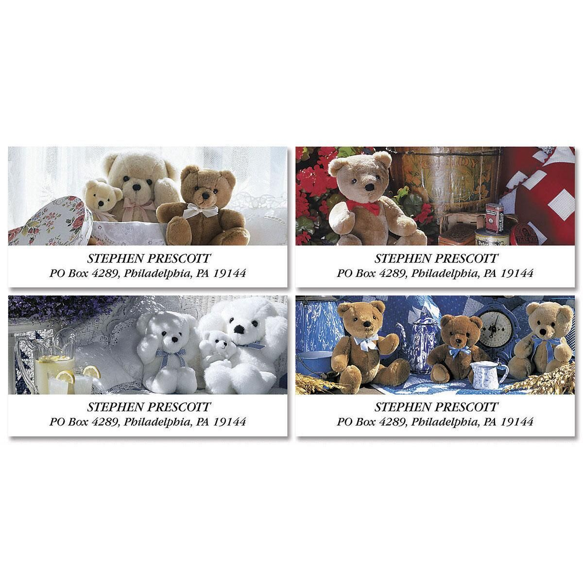 Teddy Bear Magic Deluxe Address Labels  (4 Designs)