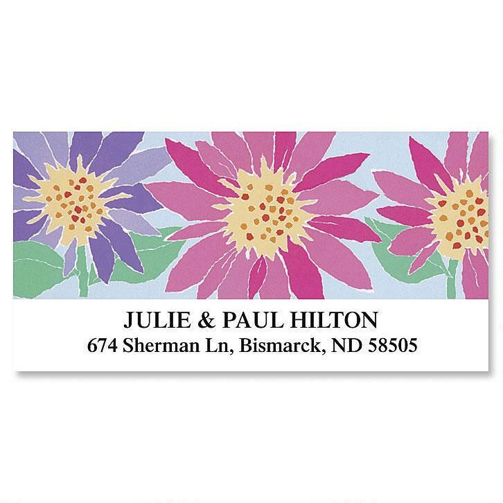 Torn Paper Deluxe Return Address Labels  (12 Designs)