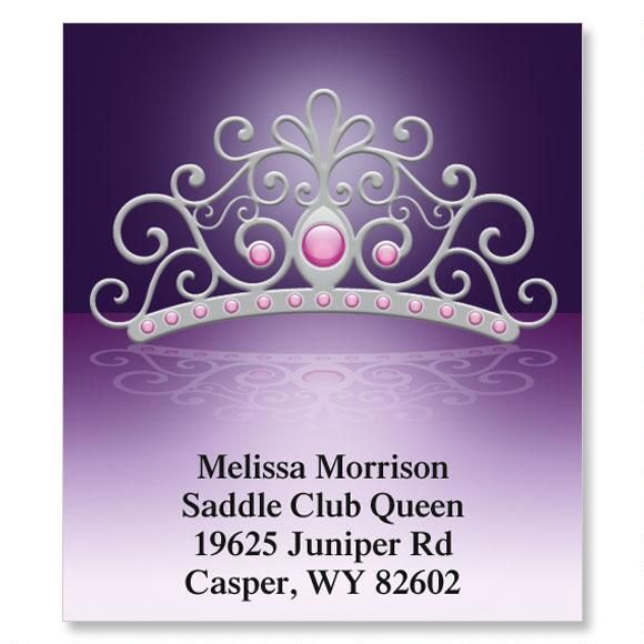 Queen Select Return Address Labels