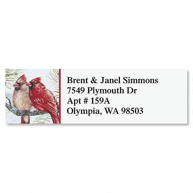 Garden Friends Classic Return Address Labels  (6 Designs)