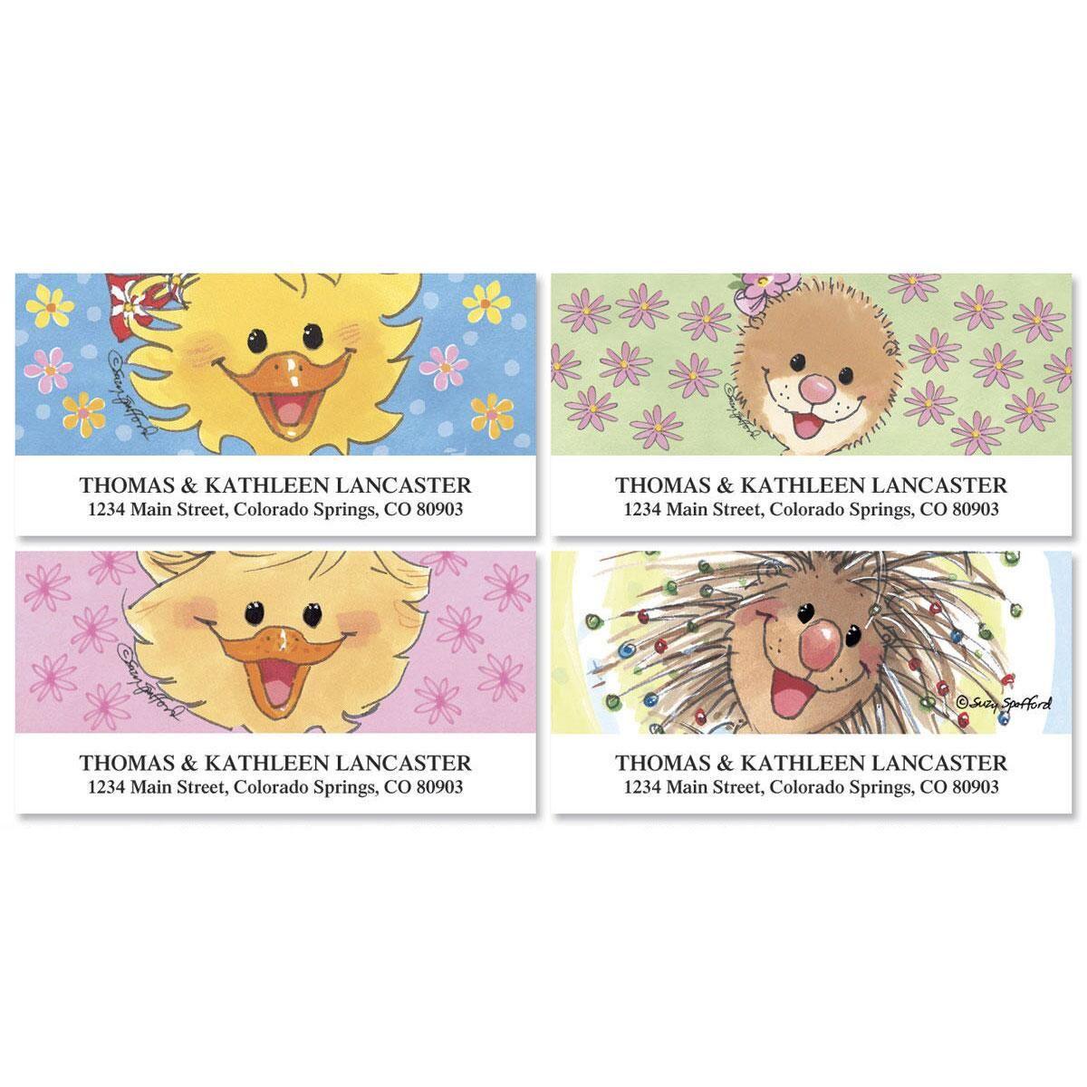 Suzy's Zoo® Deluxe Return Address Labels  (4 Designs)