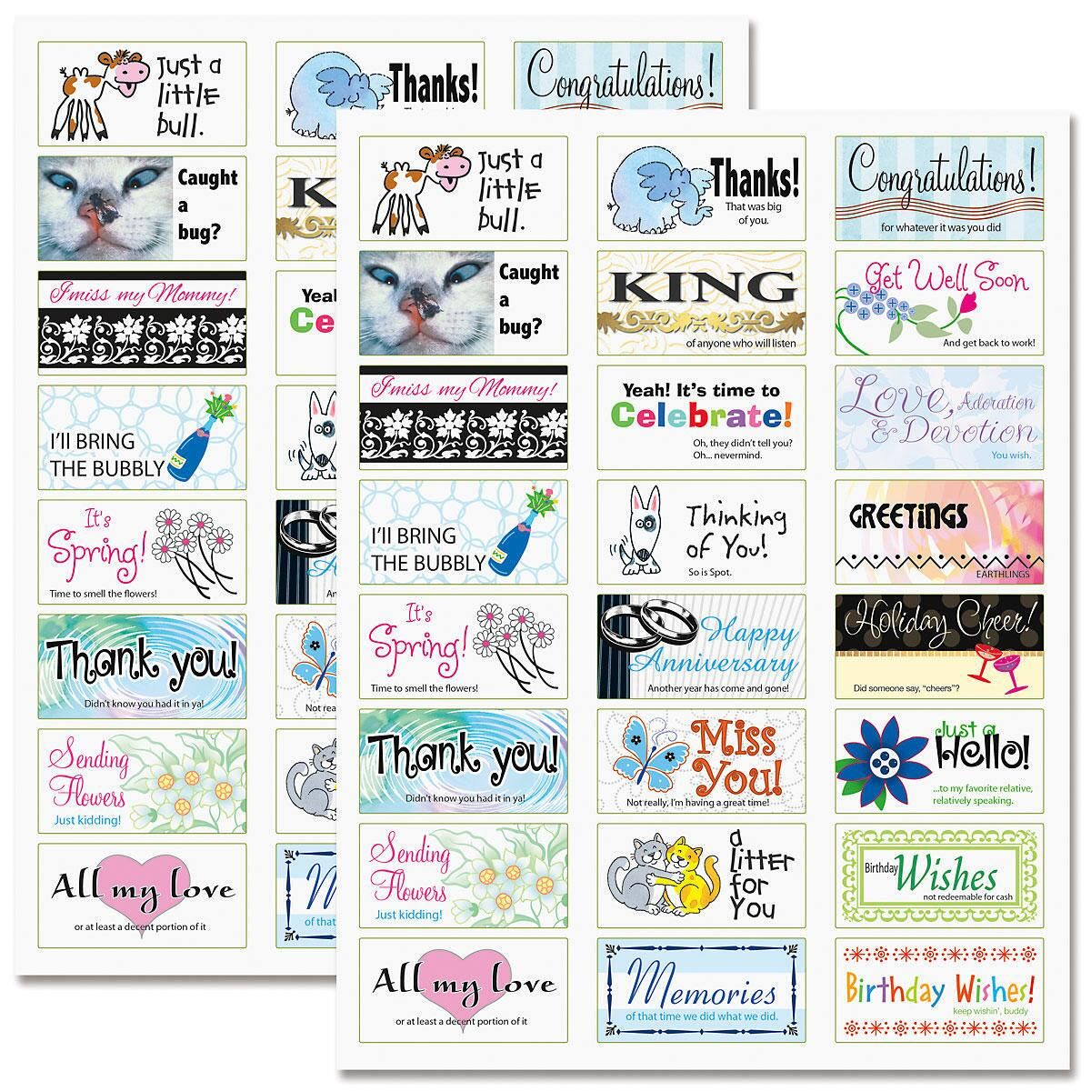 All Occasion Labels