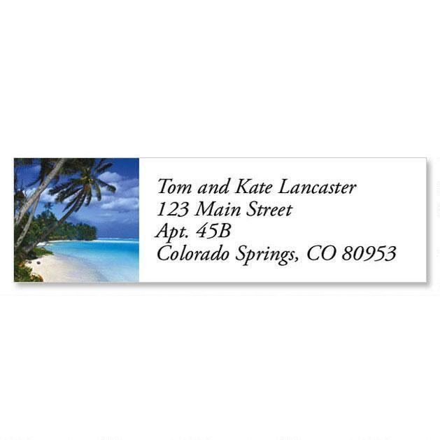 Tropical Harmony Classic Return Address Labels  (8 Designs)