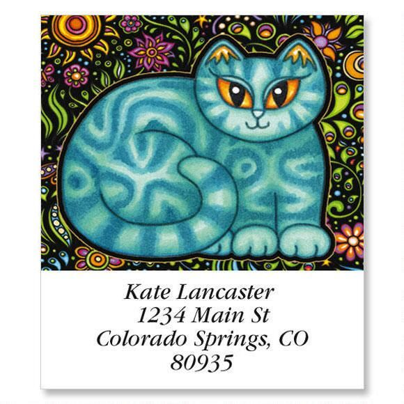 Sew Kitty Select Address Labels  (6 Designs)