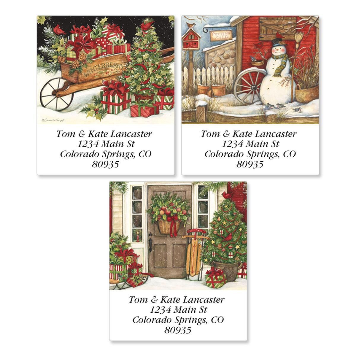 Winterberry Select Address Labels  (3 Designs)