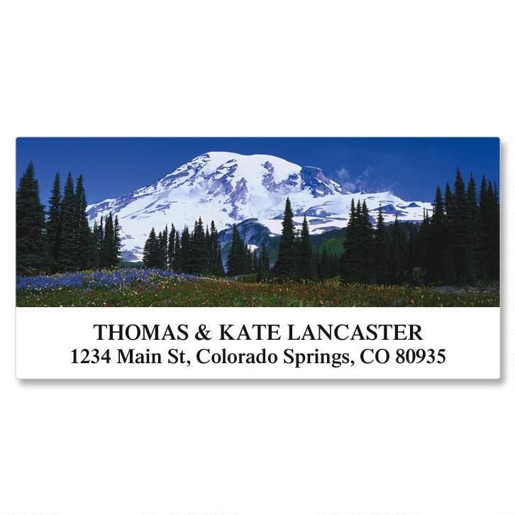 Rocky Landscapes Deluxe Address Labels  (24 Designs)