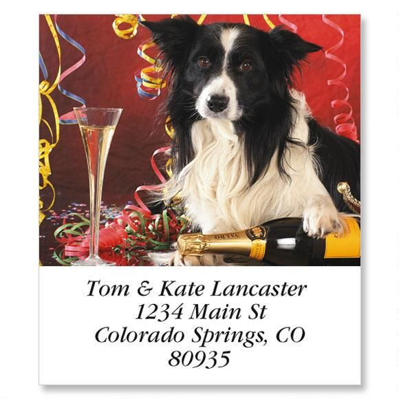Doggy Fun Select Address Labels  (12 Designs)
