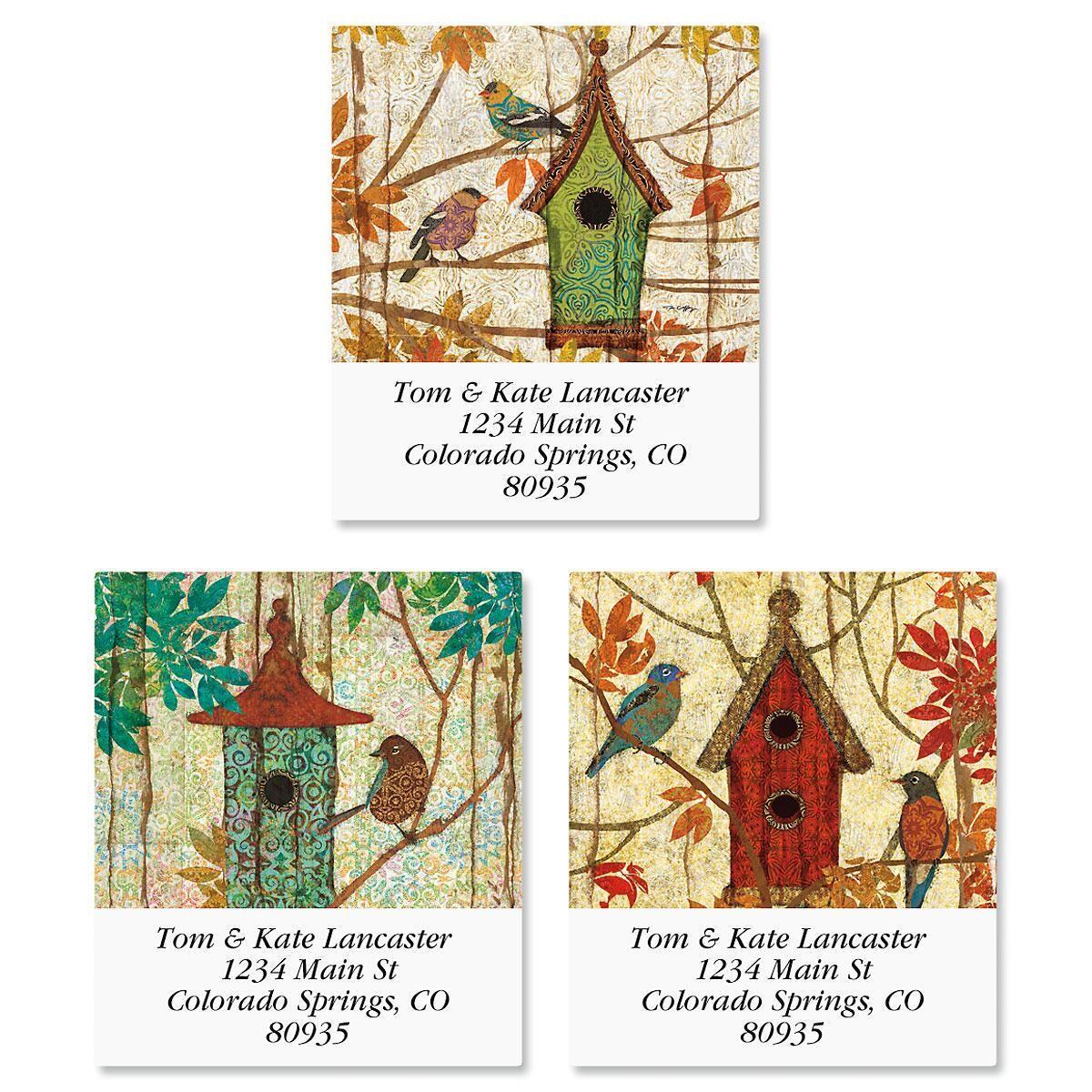 Prism Garden Select Return Address Labels  (3 Designs)