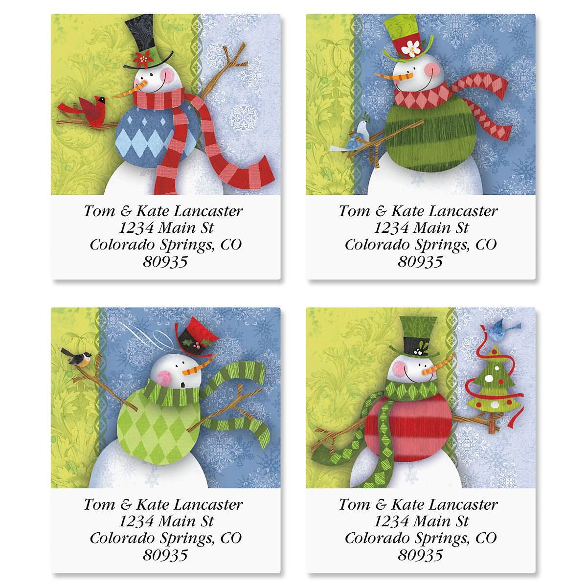 Flurries Select Address Labels  (4 Designs)