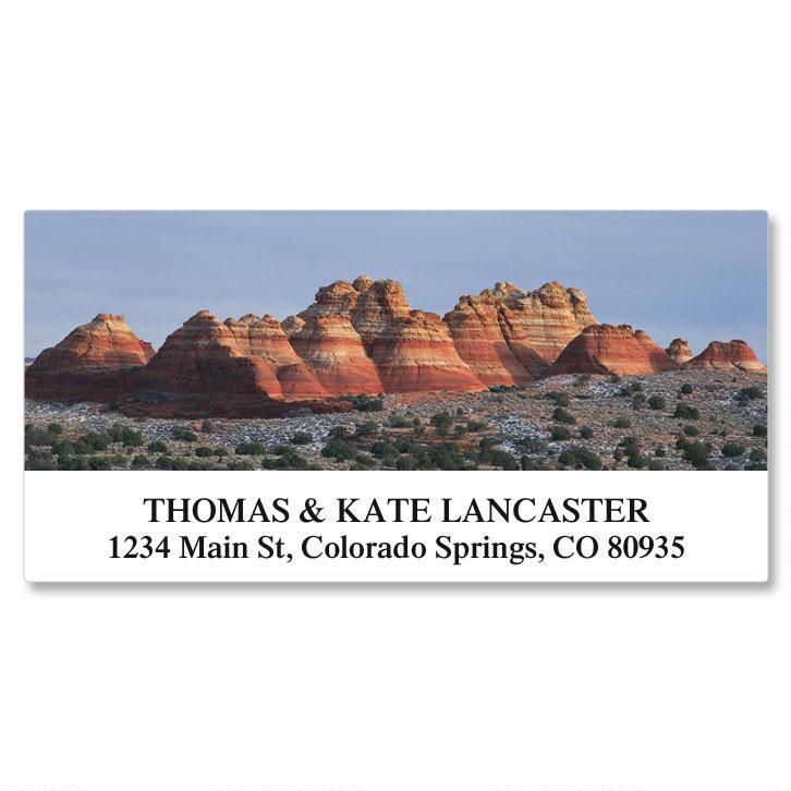 Natural Landscapes Deluxe Address Labels  (24 Designs)