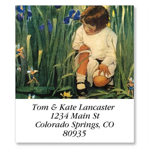 Storybook Children Select Return Address Labels  (12 Designs)