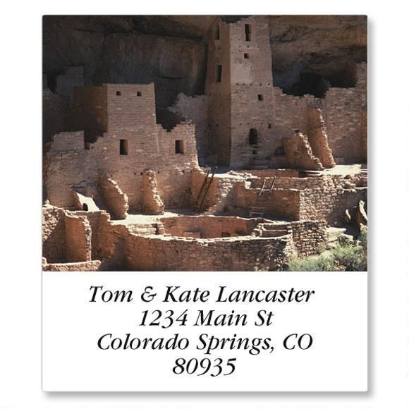 Landmarks Select Return Address Labels  (24 Designs)