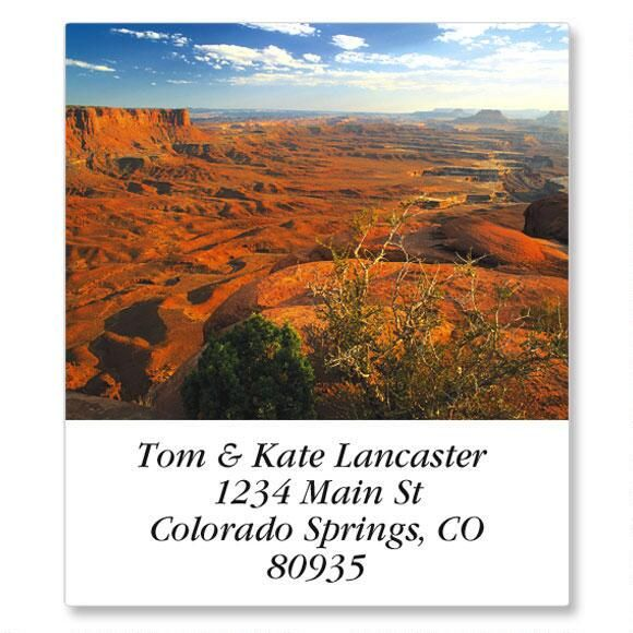 Magnificent Landscapes Select Return Address Labels  (24 Designs)
